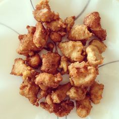 Home Made Japanese Fried Chicken.