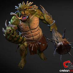Pose ready 😁 #cgart3d #mudbox #zbrush #Photoshop #modeling #3d #3dmodel #sculpting #troll #creature #monster #art #digitalart #pixologic