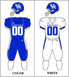 University of Kentucky Wildcats football team uniforms