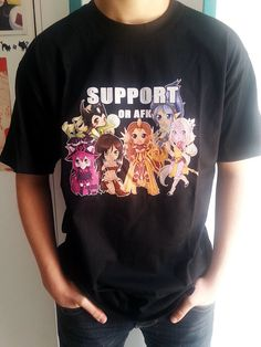 Support or AFK t-shirt - League of Legends on Etsy, $26.53 Oh my goodness! This is perfect. ^_^