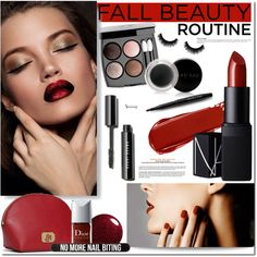 Lovely Fall! by naomimjc on Polyvore featuring polyvore, beauty, NARS Cosmetics, Mary Kay, Lauren Ralph Lauren, Bershka and Chanel