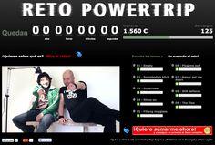 Web y campaña del Reto PowerTrip para el lanzamiento de su último disco: Empty