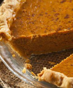 Perfect Homemade Pumpkin pie and crust from scratch. YUM!