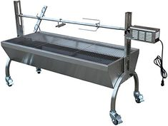 Rotisserie Grill Roaster Stainless Steel capacity BBQ charcoal pig *** Details can be found by clicking on the image. (This is an affiliate link) Best Charcoal Grill, Charcoal Bbq, Barbecue Grill, Grilling, Backyard Barbeque, Pigs For Sale, Rotisserie Grill, Grill Design, Grill Grates