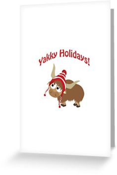 Yakky Holidays! by Eggtooth
