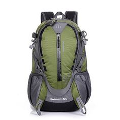 c52f408e8b Amazon.com   Sfeibo Sport Outdoor Military Travel Durable Handy Lightweigh Pocket  Zipper Backpack (black)   Sports   Outdoors
