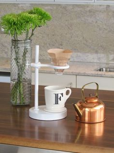 #DIY | Pour Over #Coffee Stand
