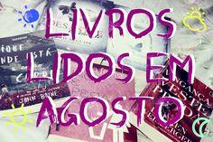 Sentido Contrário | Laly Oliveira: TV SC: Livros lidos em Agosto / 2014