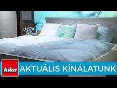 Aktuális kínálatunk - Ágynemű huzatok | Kika Magyarország - YouTube Bed, Youtube, Furniture, Home Decor, Homemade Home Decor, Stream Bed, Home Furnishings, Beds, Decoration Home