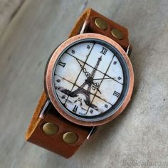 Retro Eiffel Tower Roman scale Watch only $24.9 in ByGoods.com