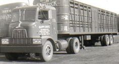 old cattle trucks | livestock to stockyards in milwaukee and chicago duffy livestock ...