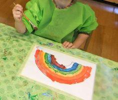 Monotypia-sateenkaareet+ lisäksi piirros aarteista