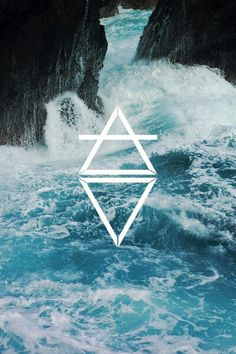 white summer rock hipster landscape alone indie Grunge water blue nature beach waves ocean sea escape stone pure breathe atypicalhipstaa No Wave, Sea Waves, Water Waves, Beautiful World, Beautiful Places, Beautiful Ocean, The Ancient Magus Bride, Deep Blue Sea, Bob Ross
