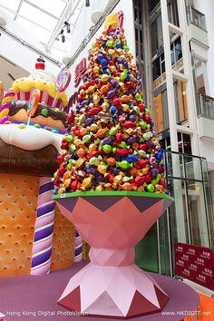 Olympian City Candy Christmas Tree #HongKong (hkdigit-20131114-081515)
