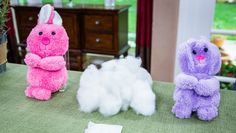 DIY Lavender Scented Sleepy Time Easter Bunnies! Catch #homeandfamily weekdays at 10/9c on Hallmark Channel!