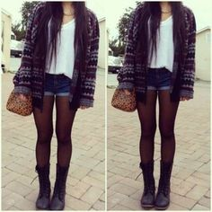 Blouse: hipsters all cute outfits tanktop cardigan shorts jacket shoes