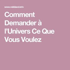 Reiki - Comment Demander à l'Univers Ce Que Vous Voulez Amazing Secret Discovered by Middle-Aged Construction Worker Releases Healing Energy Through The Palm of His Hands... Cures Diseases and Ailments Just By Touching Them... And Even Heals People Over Vast Distances...