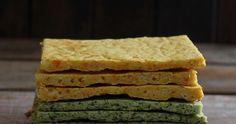 Esta receta de hoy se debe a  este vídeo con el que me encontré por casualidad en Youtube, una especie de pan plano de brócoli que me ... Pan Bread, Empanadas, Crackers, Waffles, Sandwiches, Gluten Free, Keto, Wraps, Food