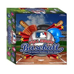 MLB Full Count Baseball Board Game