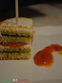 Canapé de Pesto et crème de poivron rouge // Confessions de 2 foodaholic