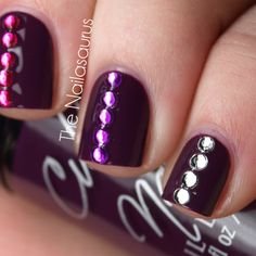 How can somethin' so Vicious look so pretty in pictures?  Cult Nails Vicious  Mash Rhinestones