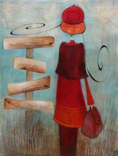 Armandine Jacquemet Soares (©2014 artmajeur.com/mandarine) peinture acrylique sur toile