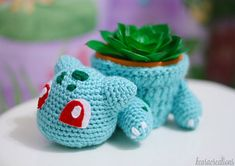 Hey, I found this really awesome Etsy listing at https://www.etsy.com/listing/200666864/bulbasaur-planter-cozy