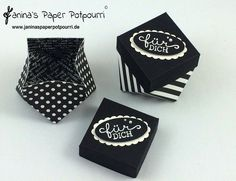 jpp - black and white diamond boxes