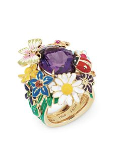 Rosamaria G Frangini   High Floral Jewellery   The Garden of Dior.