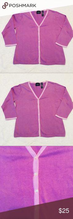 Crazy Horse Cardigan Great condition size XL Liz Claiborne Sweaters Cardigans