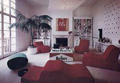 1970s Milan apartment   Designers Fabrizio Paris and Patrizia Pietrogrande DRYDOCKSHOP