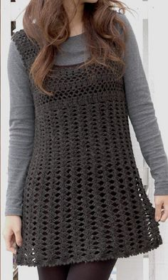 Crochet: Crochet Pattern: Simple Dress