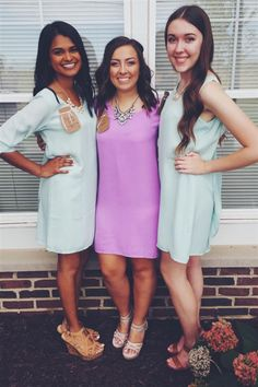 The perfect sorority recruitment outfit to kick off Fall recruitment!