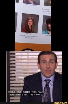 Omg I want to be best friends with this girl I love the office and I relate with this quote so much hahahahah