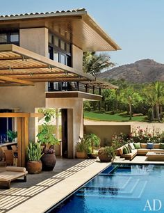 Olson Kundig Architects Designs an Oceanfront House in Los Cabos, Mexico : Architectural Digest