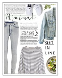 """""""The Look For Less: Denim Edition"""" by jessinerio4l ❤ liked on Polyvore featuring Cheap Monday, H&M, Keds, Lipsy, LookForLess and denim"""