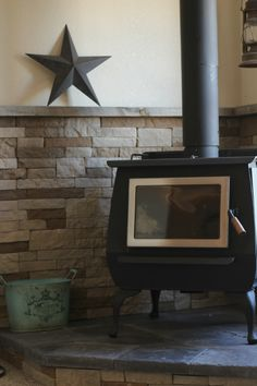 Wood Heat on the Homestead: DIY Wood Stove Installation Wood Stove Surround, Wood Stove Hearth, Diy Wood Stove, Stove Fireplace, Wood Burner, Wood Mantle, Fireplace Remodel, Into The Fire, Into The Woods