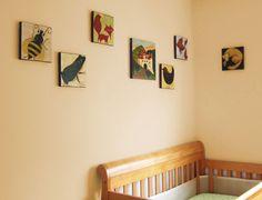 "SALE 40% OFF Bird Nursery Art Giclee Print - ""The Willow Wren and the Bear"". $23.99, via Etsy."