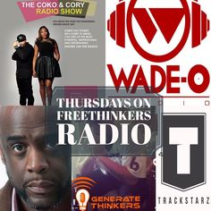 Thursday is getting you ready for your weekend with: 12pm: The Coko and Cory Show 2pm: Generate Thinkers with Pastor Jake Whicker 5pm: Jah Roots Radio 6pm: The DJ Wade O Radio Show 9pm: Trackstarz App and Website on the Pinned Post!! #freethinkersradio #weekend #turnup - facebook.com/rlwonderland