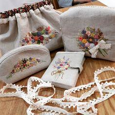 #Embroidery#stitch#needle work #프랑스자수#일산프랑스자수#자수#자수타그램#자수소품 #e.j님의 자수소품 4종^^~