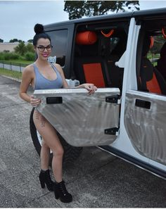 New Jeep JK Wrangler DIY Tube Doors