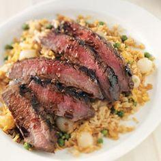 Teriyaki Steak Recipe from Taste of Home -- shared by Dan Mayer of Olney, Illinois
