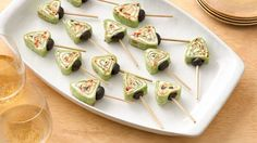 Enjoy this creamy appetizer made in creative tree shape - perfect for Christmas.