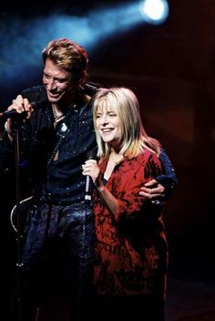 Photos souvenir France Gall et Johnny Hallyday Olympia 2000 France Gall, Johnny Haliday, Vartan Sylvie, Photo Star, French Collection, Girl Boss Quotes, Christian Audigier, Illustration Girl, Dark Angels