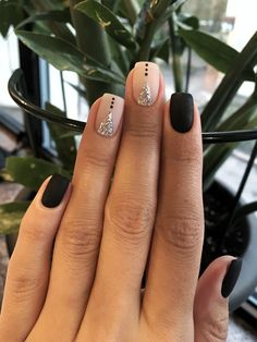 85 Fabulous Spring Square Nail Designs To Make You Shine – Page 29 of 85 spring square acrylic nails designs; Square Nail Designs, Short Nail Designs, Nail Art Designs, Accent Nail Designs, Nails Design, Black Nail Designs, Gel Designs, Simple Nail Designs, Chic Nails