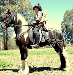 Medieval Horse Sports Australia    Barbarian look