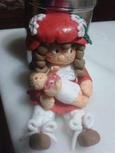 Muñeca de fondant