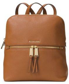 MICHAEL Michael Kors Rhea Medium Slim Backpack | macys.com