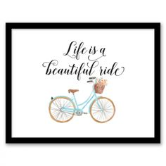 Life is a Beautiful Ride Wall Art