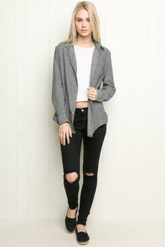 Brandy ♥ Melville   Wylie Flannel - Clothing